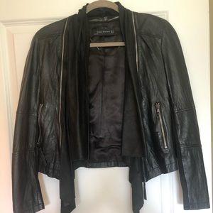 Leather Jacket- Zara.